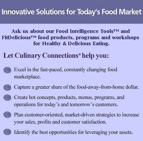 Innovative Solutions for Today's Food Market